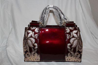 Brand New Fashion Lady Patern Leather Concise Crosbody Bag