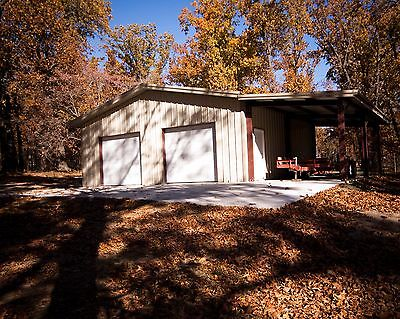 27'x30'x10' Steel Garage Building Kit. Act now steel prices go up Jan 16th 2017.