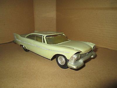 1958 Plymouth FURY as is some destortion NO Box Dealer Promo 1/25 Johan original