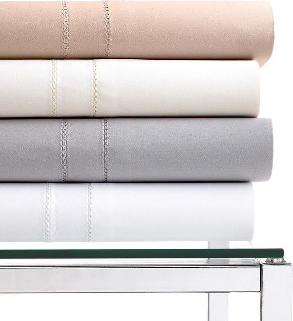 Hotel Collection 800 TC 100% Egyptian Cotton  cal king fitted sheet White