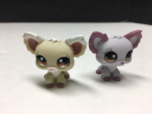 Littlest Pet Shop Lot Of 2 Chihuahuas 1199 And 1138