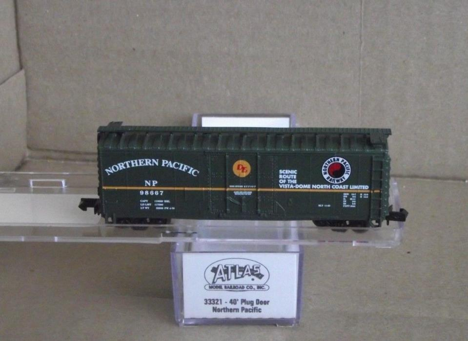 Atlas Northern Pacific 40' Boxcar