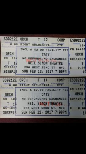 2 Cats New York Tickets 02/12/17 (New York)