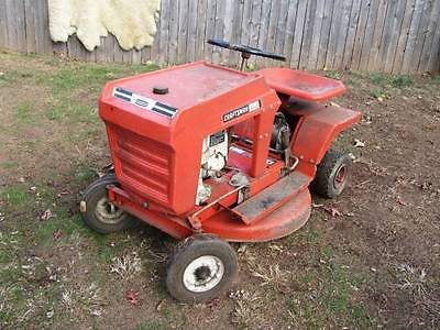 VINTAGE CRAFTSMAN RIDING MOWER
