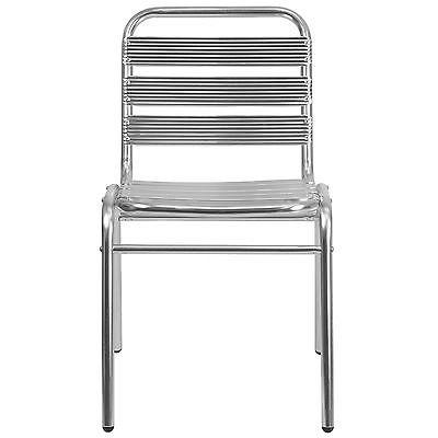 Cruz Outdoor Restaurant Side Chair-Stackable