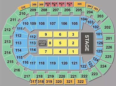 Maroon 5 Vegas 2 Tickets Sec 220 Row F 12/30