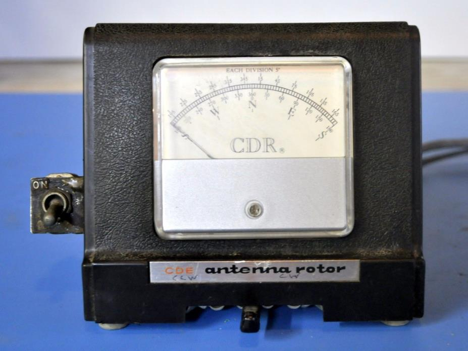 CDE CDR Ham-M Antenna Rotor Controller Cornell-Dubilier Ham Radio