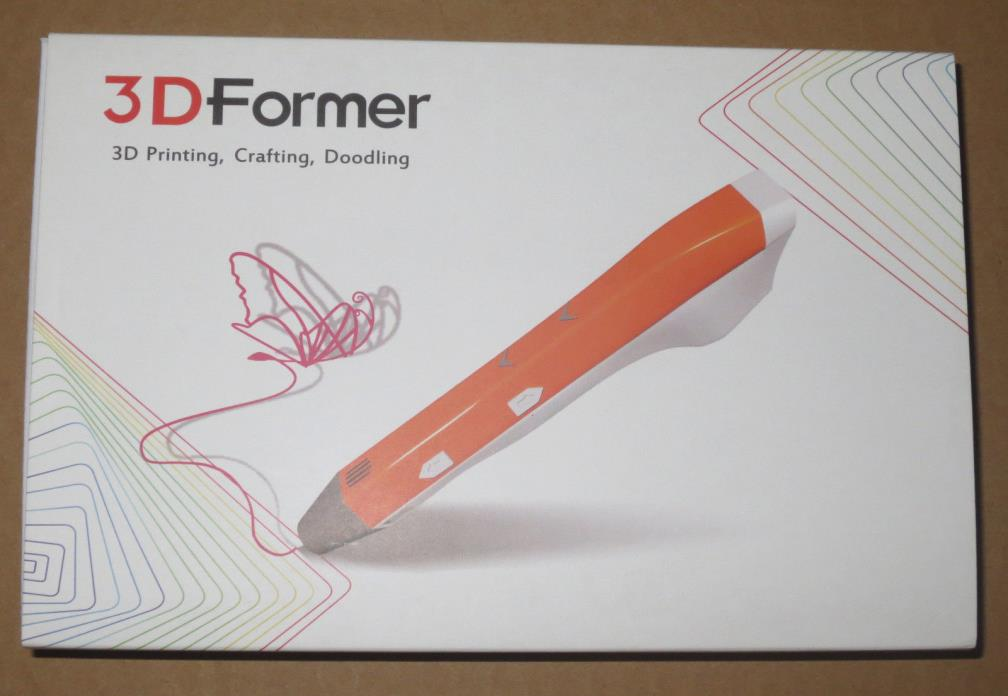 New 3D Former Drawing Pen Dim3-G1-001A for 3D Printing, Crafting, Doodling