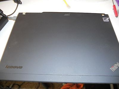 BLACK Vinyl Lid Skin Cover Decal fits IBM Lenovo Thinkpad T500 Laptop
