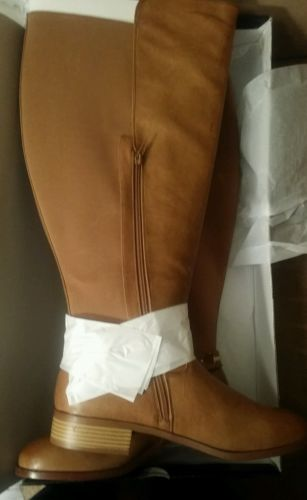 Camel colored wide calf boots women size 12