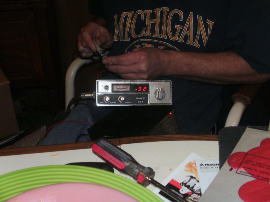 royce 604 mobile cb radio