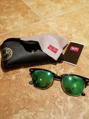 BRAND NEW RAY-BAN SUNGLASSES RB 3016 1145/19 HAVANA MIRRORED AUTHENTIC W/CASE !