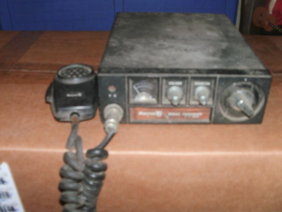 Radio CB vintage ROYCE mod. 1-650 for parts