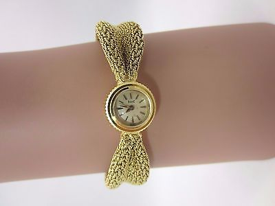 Vintage 18k yellow gold Piaget Swiss Bracelet watch