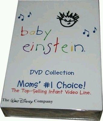 BABY EINSTEIN 26 DISC DVD SET COLLECTION  BIN NEW