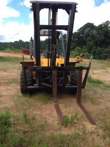 Eagle Picher R80 Rough Terrain Forklift FOR PARTS ONLY