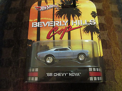 HOT WHEELS 2013 RETRO ENTERTAINMENT: BEVERLY HILLS COP '68 CHEVY NOVA  1:64