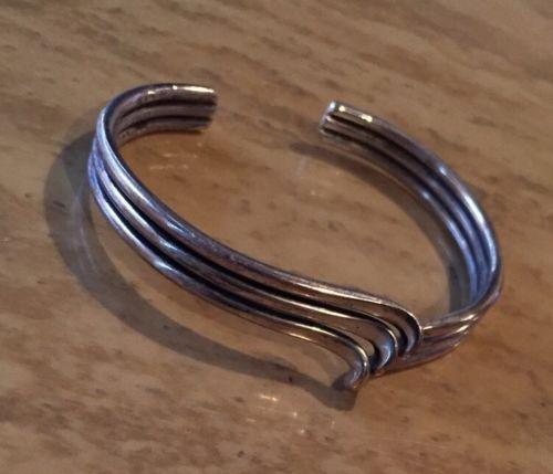 Vintage Mexico Sterling 925 Cuff Bracelet