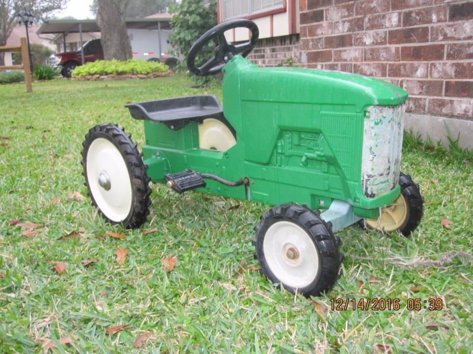 Vintage Original ERTL John Deere Pedal Tractor w/ Trailer