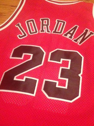 Authentic Michael Jordan Chicago Bulls Jersey