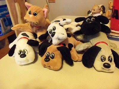 Vintage Pound Puppies and Kitten