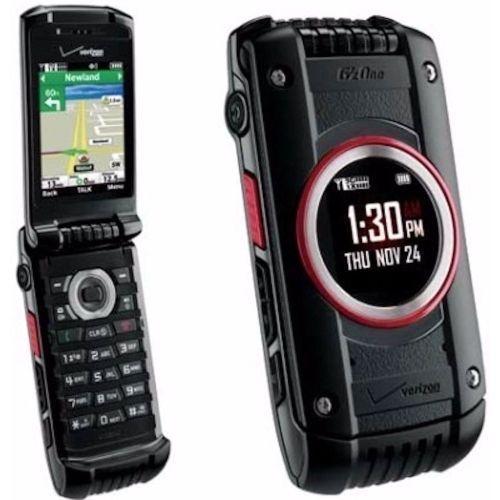 UNLOCKED Casio GzOne Ravine 2 C781 Verizon Phone Basic Flip Cell Phone