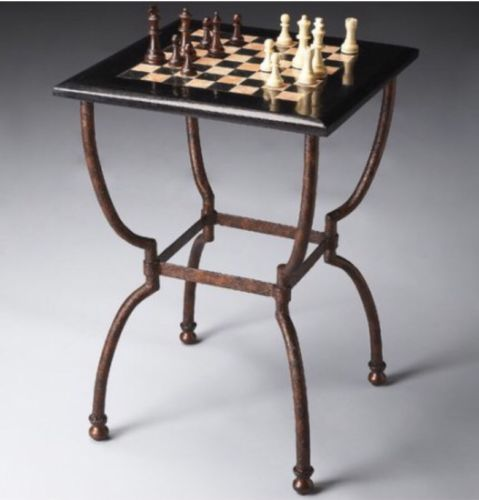 New Metalworks Chess Table