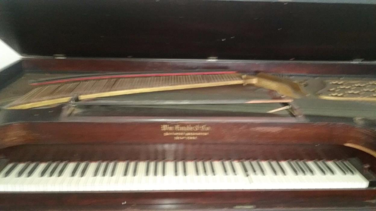 1926 knabe grand piano for sale classifieds for How much space does a baby grand piano need