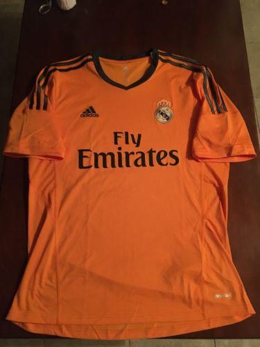 Real Madrid Orange Jersey