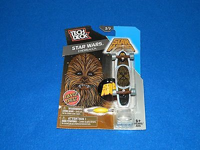 Tech Deck Star Wars Chewbacca Santa Cruz 96mm - HTF MOC - RARE
