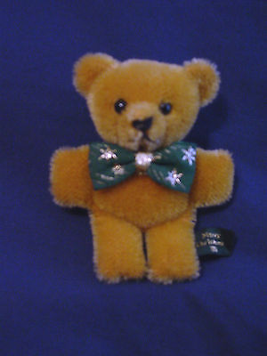 Hermann Teddy - Teddy Bear Christmas Pin from 1994 - Mohair