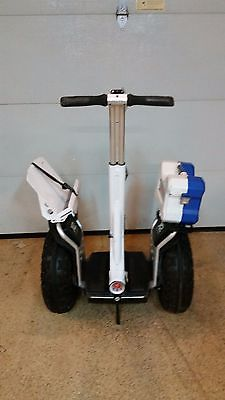 Segway X2 Off Road Transporter electric self balancing W/ Tool box & doc holder