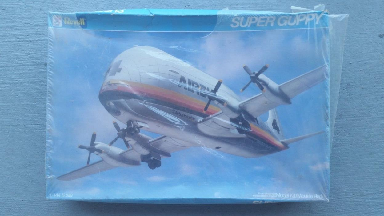 REVELL #4743 AIRBUS INDUSTRIE SUPER GUPPY IN 1/144th SCALE