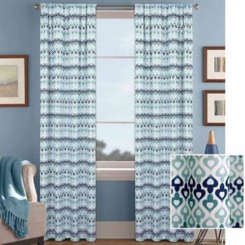Better Homes and Gardens Morocco Printed Window Curtain, 52
