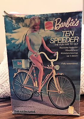 Vintage 1973 Mattel Barbie Ten Speeder Bike no. 7777 10 speed bicycle