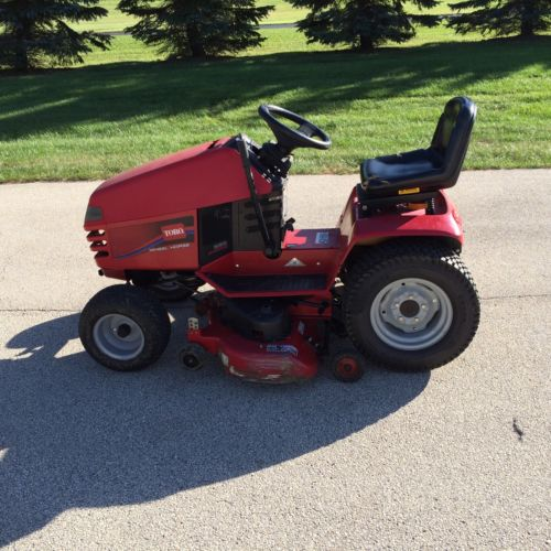 Riding Lawn Mower Hubcaps : Toro wheel horse tractor for sale classifieds