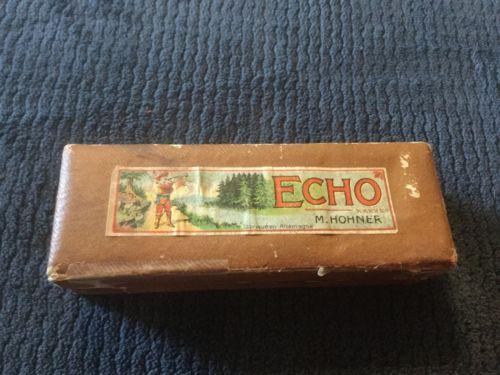 Vintage Echo Harmonica M. Hohner