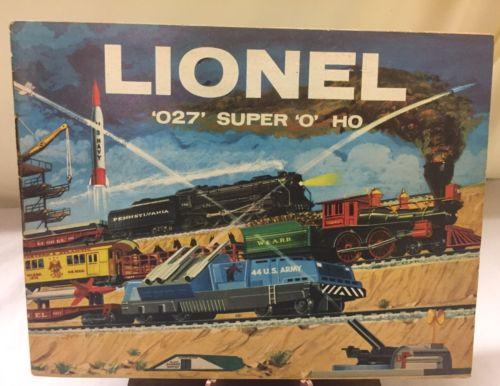 Vintage 1959 LIONEL Train CATALOG!!