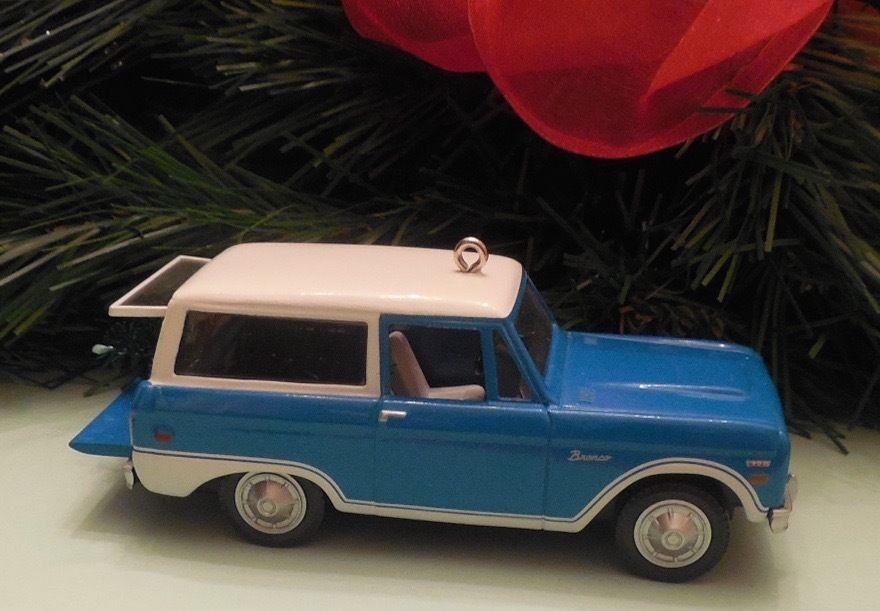 Hallmark 2016 Ford Bronco 1970 All American Trucks Series MIB