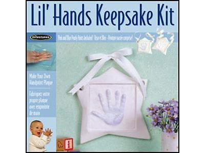 Milestones Keepsake Kit Lil Hands Star
