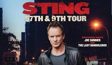 Sting Tickets 02/06/17 (San Francisco) - 2 Reserved Balcony Seats