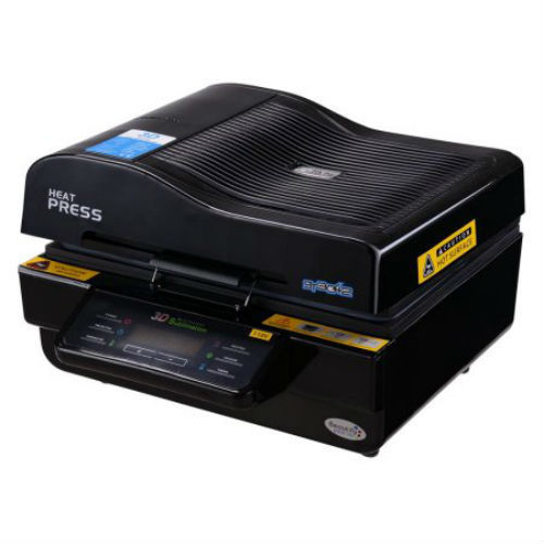 3D Multifunction Heat Press High Intelligent Vacuum Transfer Sublimation Printer
