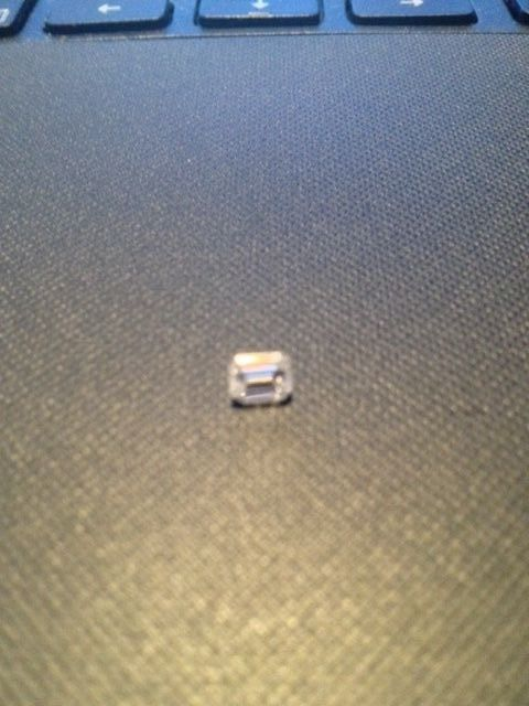 .41 CARAT LOOSE EMERALD CUT DIAMOND***CLEAN & LOW PRICE!!!