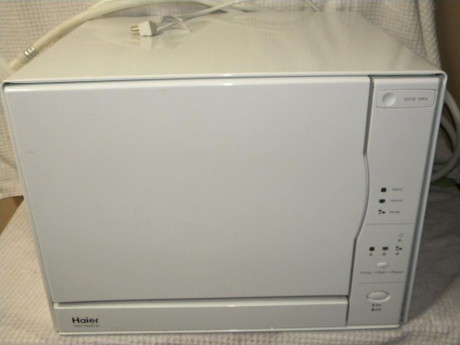 HAIER HDC1804TX 4 PLACESETTING Countertop Portable Dishwasher