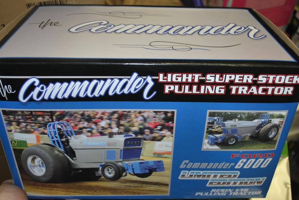 New 1/16 Ford 6000 commander pulling tractor by Spec Cast, new in box NICE