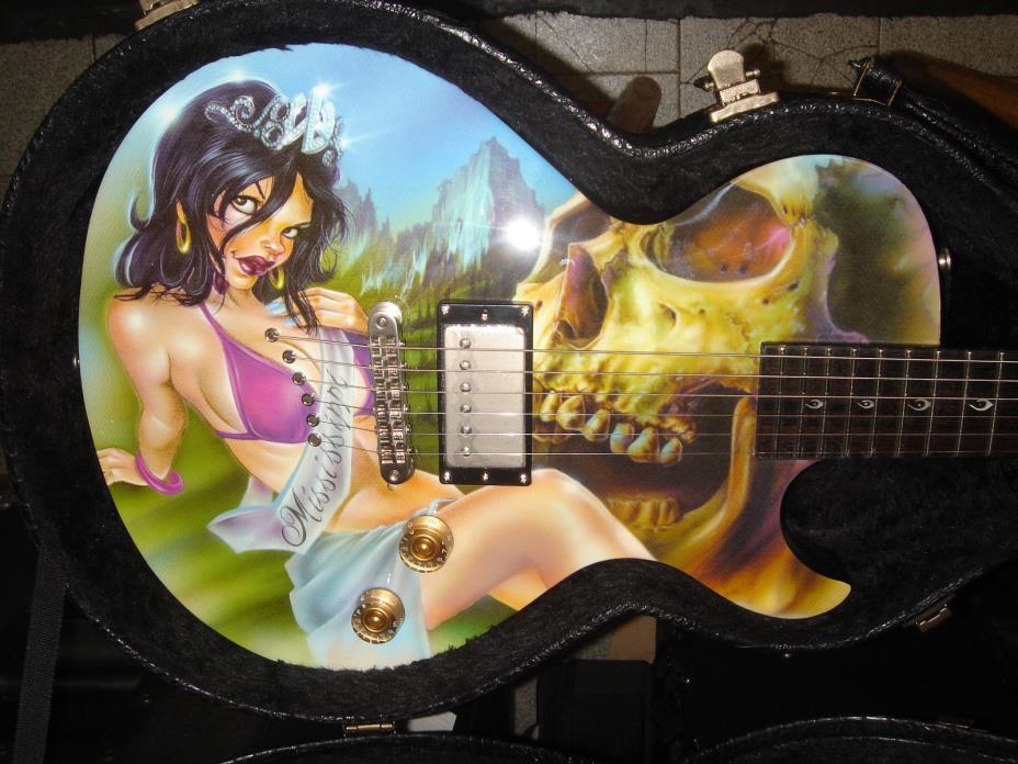 New DEAN Leslie West Standard Mississippi Queen  + Exotic Hardshell Case.