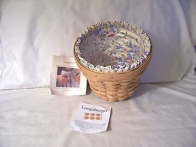 Longaberger Bouquet Basket Combo 2004