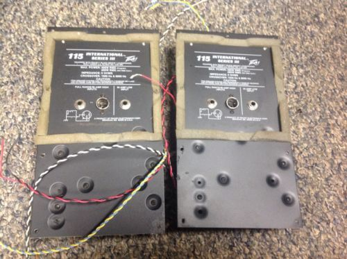 Peavey 115 Series III Speaker Crossovers 3 Way 1500hz 8000hz 400 Watt 8 Ohm PAIR