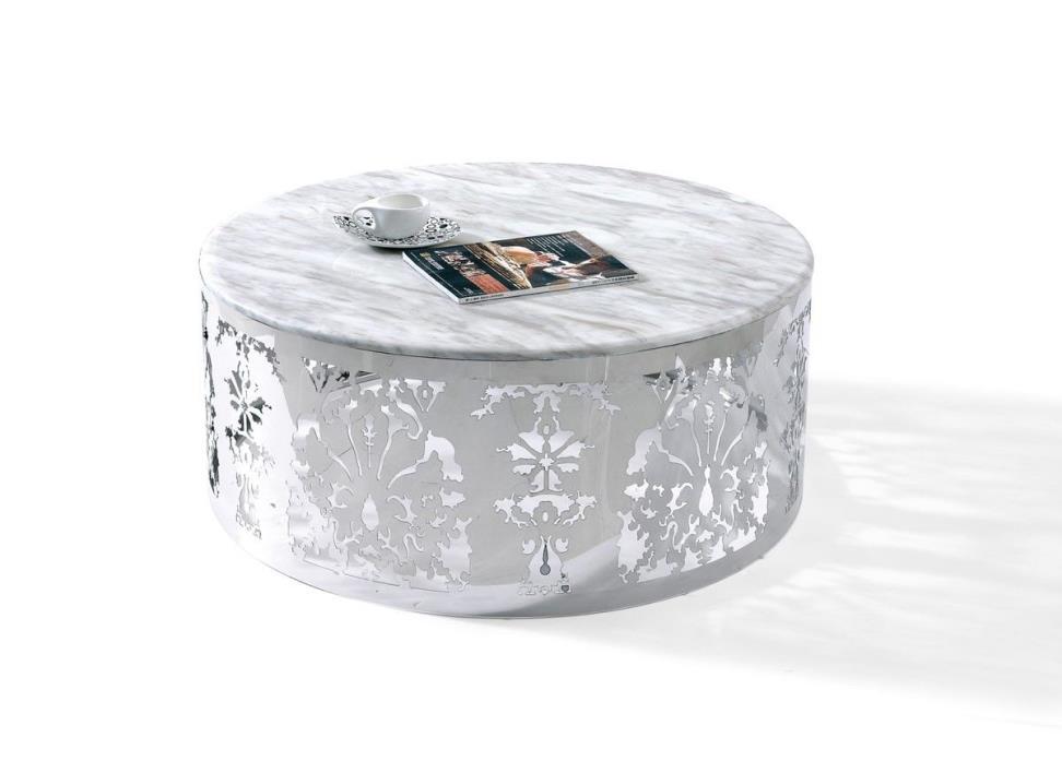 Margaret Modern Marble Top Coffee Table
