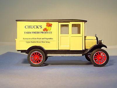 1924 Chevy Series H 1-ton Truck-Chuck's Farm Diecast Collectible